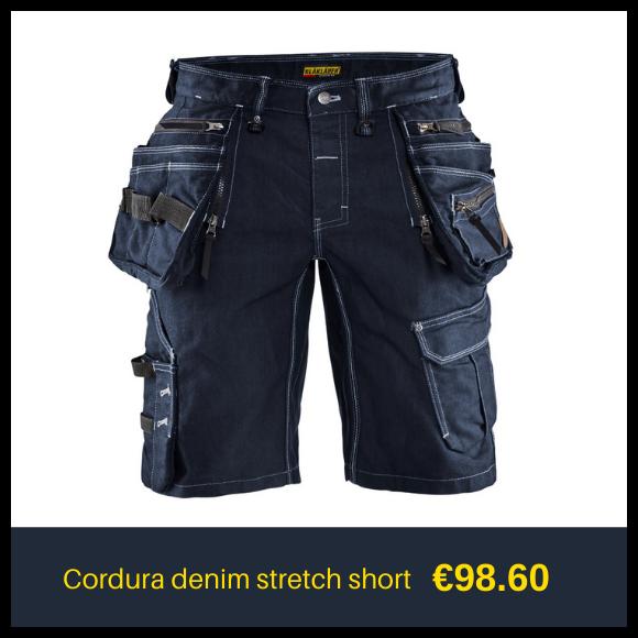 BLAKLADER denim shorts
