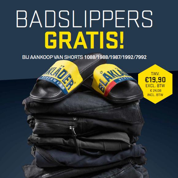 + gratis slippers